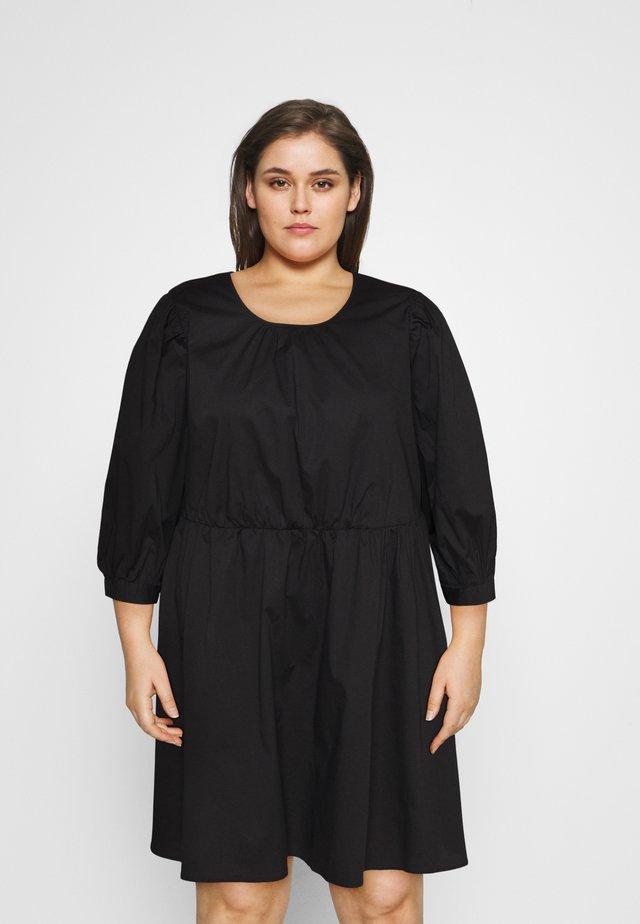 CARELLY LIFE O NECK DRESS - Vestido informal - black