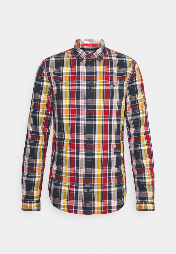 Tommy Jeans SEASONAL CHECK SHIRT - Koszula - multi-coloured/wielokolorowy Odzież Męska SXTZ