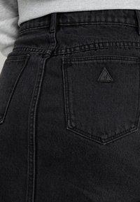Abrand Jeans - A SKIRT - Jeansrok - graphite - 5