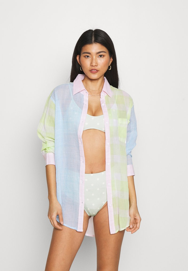 Solid & Striped - THE LONG OXFORD VOILE - Beach accessory - pink/multicolor