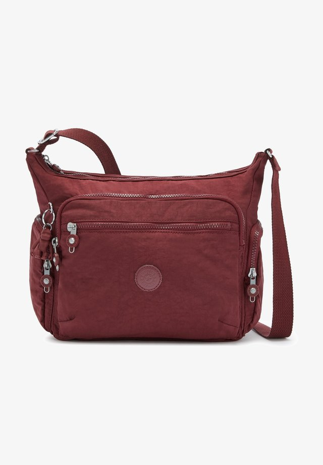 Across body bag - intense maroon