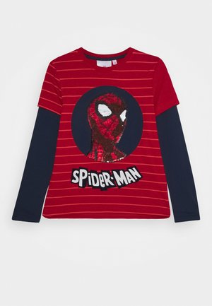MARVEL SPIDER MAN - Long sleeved top - red