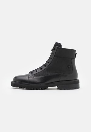 TELA MARIO BOOT - Lace-up ankle boots - black