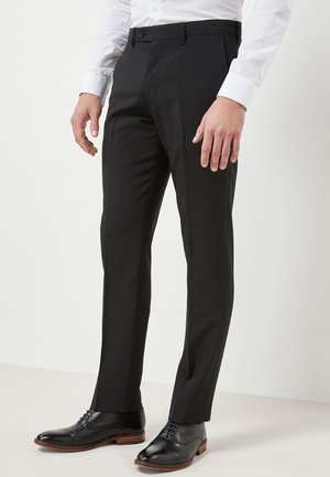 Suit trousers - mottled black