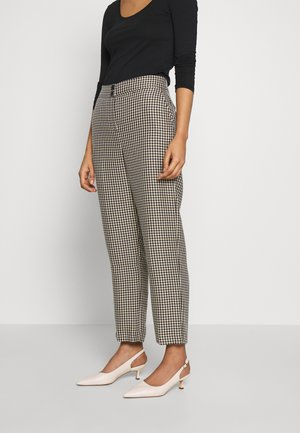 CHECK STRAIGHT LEG TROUSER - Trousers - multi bright