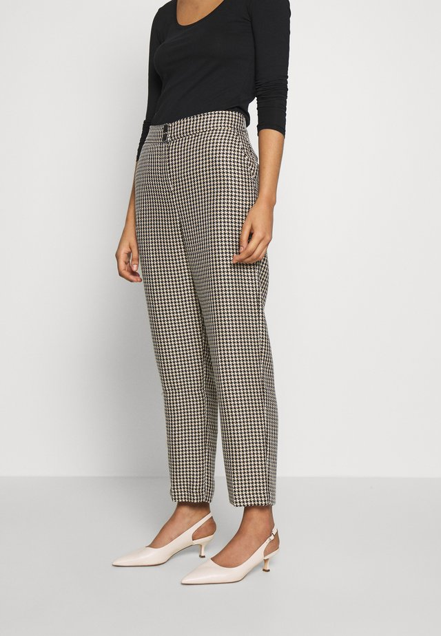 CHECK STRAIGHT LEG TROUSER - Pantaloni - multi bright