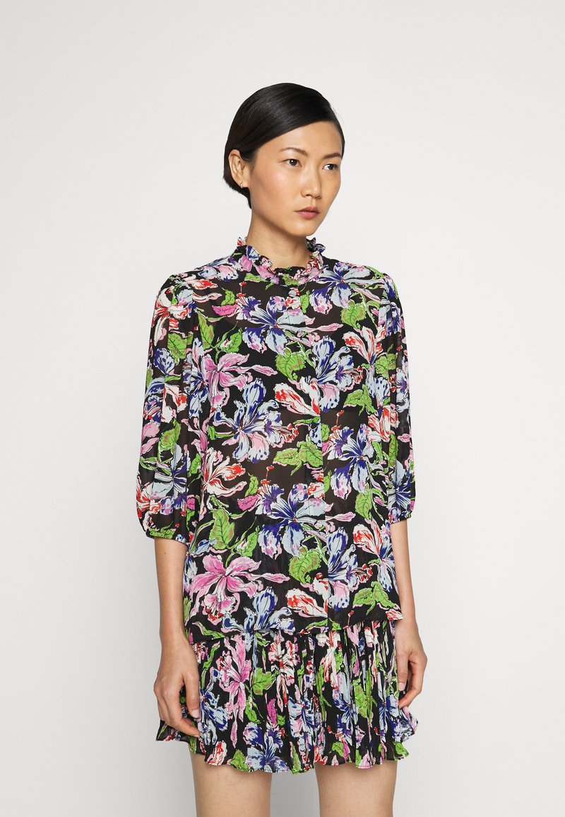 Hofmann Copenhagen - JEANET - Button-down blouse - black