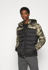 Solid - JACKET DAFFY - Light jacket - forest night - 0