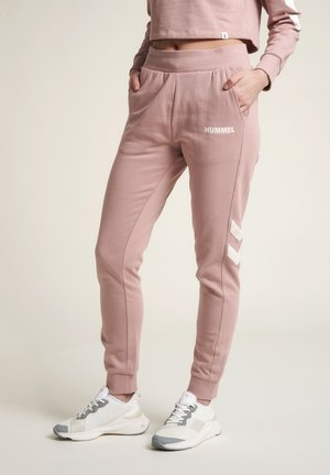 Tracksuit bottoms - woodrose