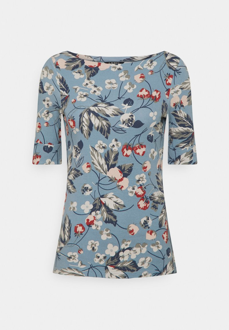 Lauren Ralph Lauren - Print T-shirt - dusty blue