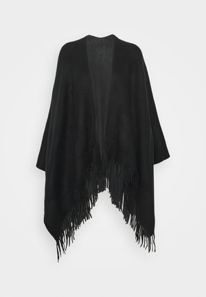 NEW OPP WRAP - Poncho - black