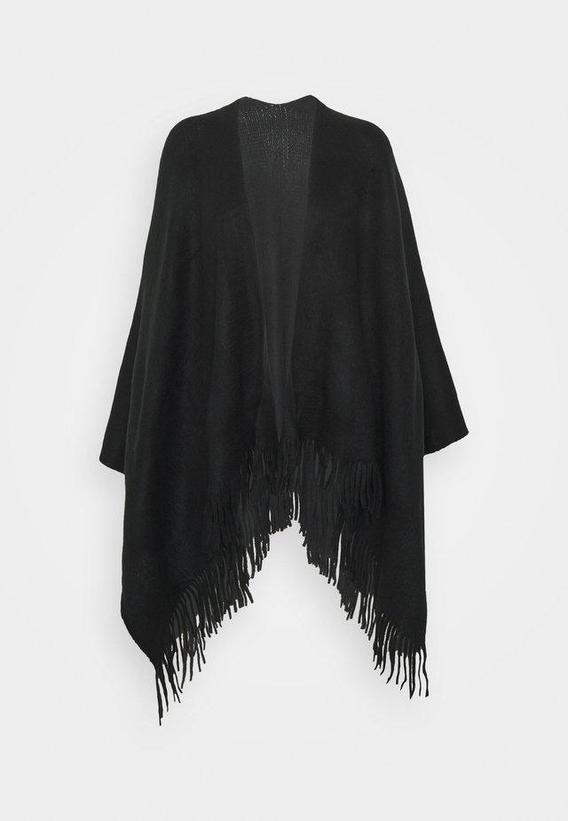 NEW OPP WRAP - Poncho - black