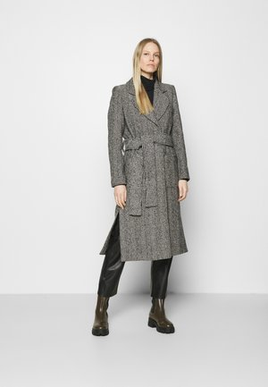 Klasyczny płaszcz - ahello noir/black