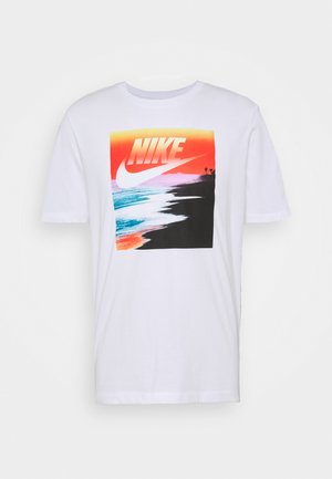 TEE SUMMER PHOTO - Print T-shirt - white