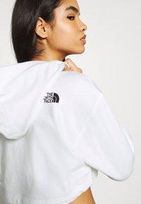 The North Face - COORDINATES CROP DROP HOODIE - Sweatshirt - white - 3