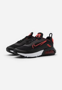 Nike Sportswear - AIR MAX 2090 UNISEX - Sneakers laag - black/chile red - 5