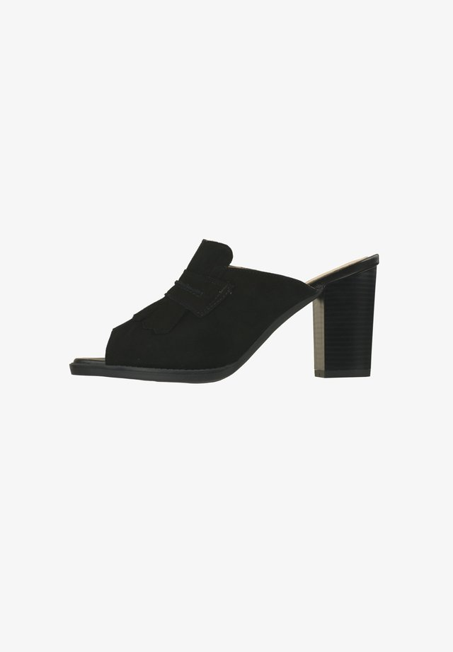 Peep toes - schwarz