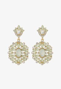 Pieces - PCYELLOW EARRINGS - Earrings - gold-coloured - 1