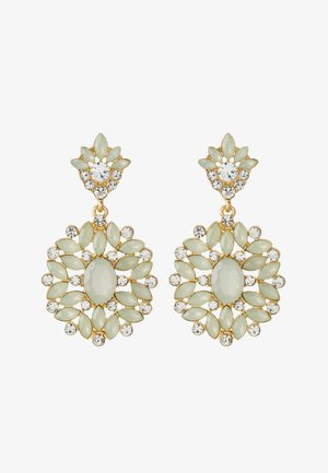 PCYELLOW EARRINGS - Earrings - gold-coloured