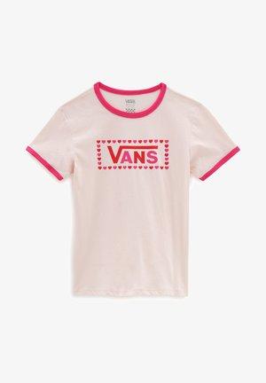 GR LOLA - Camiseta estampada - vans cool pink/fchsiaprpl