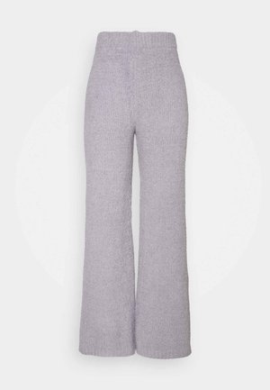 POPCORN WIDE LEG TROUSER - Bukser - grey