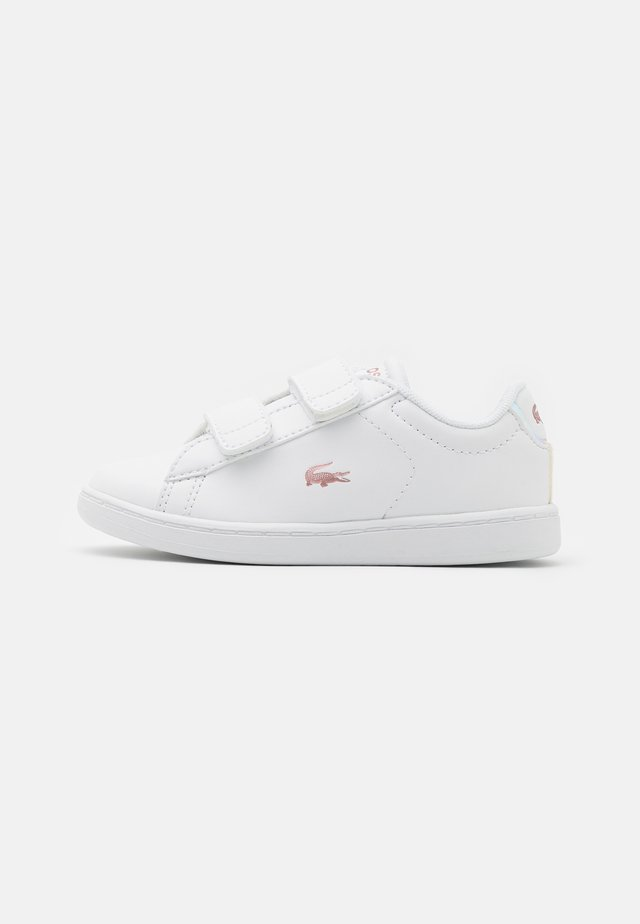 CARNABY - Trainers - white/light pink