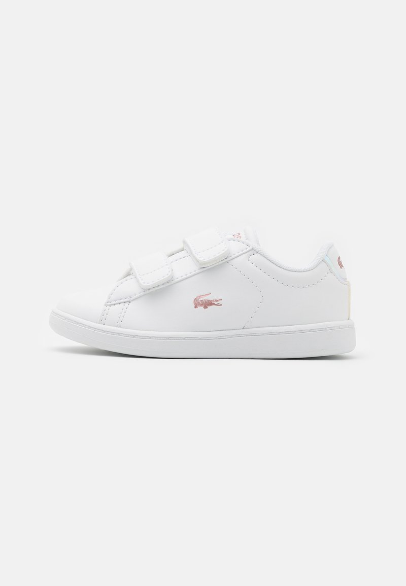 Lacoste - CARNABY - Trainers - white/light pink