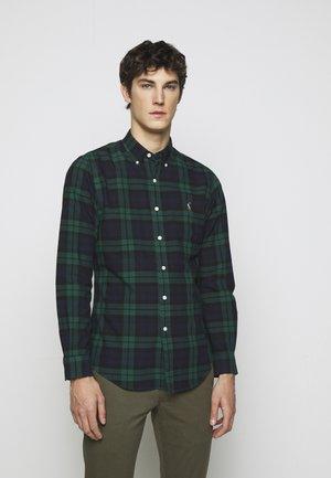 OXFORD - Shirt - green/navy