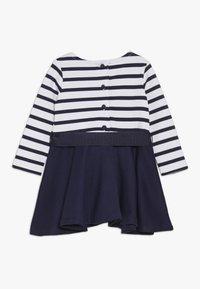 Polo Ralph Lauren - PONTE STRIPE - Jerseykleid - french navy/white - 1