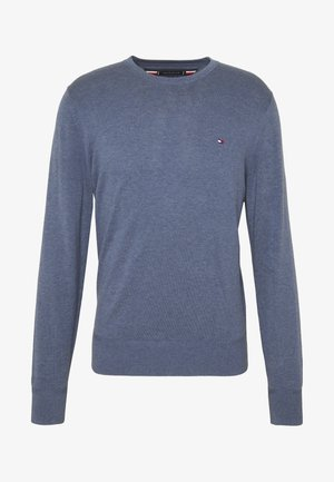 CREW NECK - Strickpullover - blue