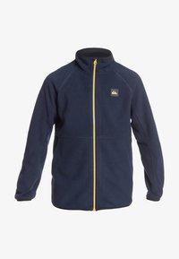 Quiksilver - BUTTER YOUTH  - Fleece jacket - dark blue - 0