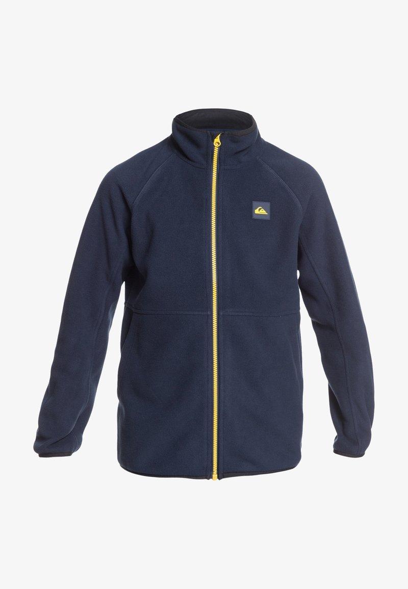 Quiksilver - BUTTER YOUTH  - Fleece jacket - dark blue