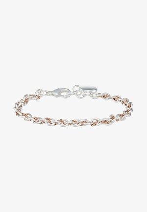 SPIKE SMALL BRACE - Bracciale - silver-coloured/roségold