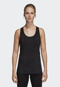 adidas Performance - TANK - Sportshirt - black - 0