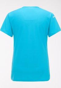 Haglöfs - Basic T-shirt - maui blue - 5