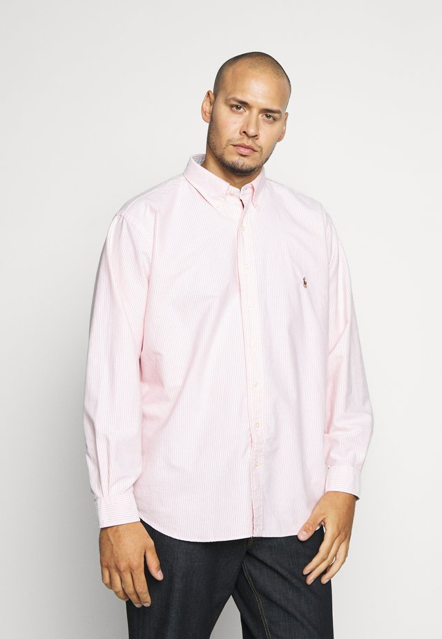 OXFORD - Shirt - pink/white