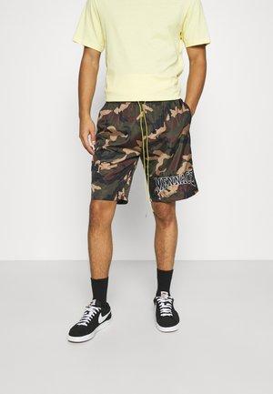 CAMO PULL ON - Shorts - khaki