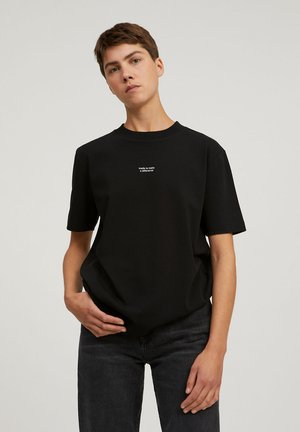 TARAA DIFFERENCE  - Print T-shirt - black