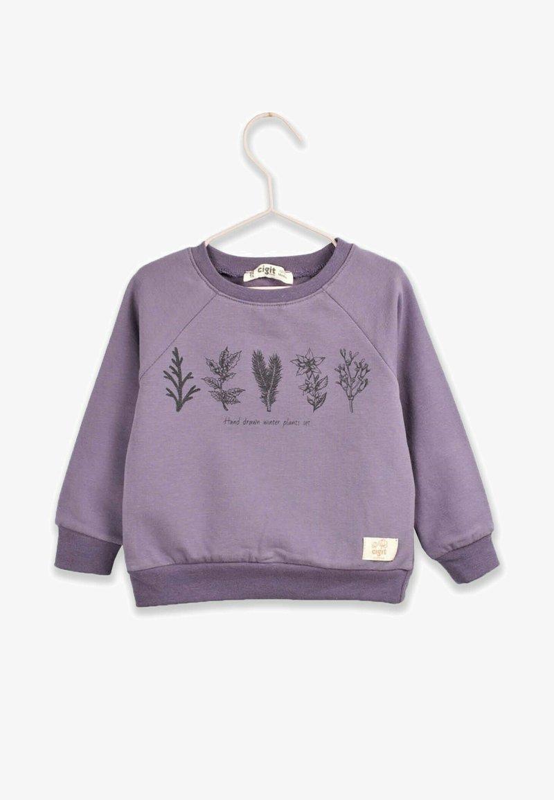 Cigit - Sweatshirt - mauve