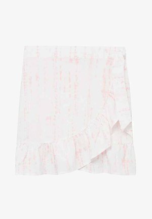 TIEDYES - Wrap skirt - rose