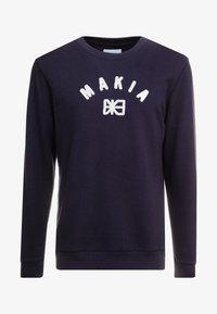 Makia - BRAND - Collegepaita - dark blue - 3