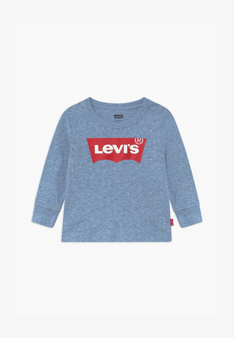 Levi's® - BATWING TEE UNISEX - Long sleeved top - mottled blue