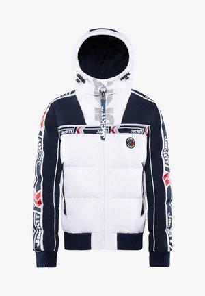 Down jacket - navy/white