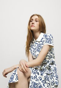 Polo Ralph Lauren - Shirt dress - white/dark blue - 3
