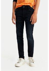 WE Fashion - Jeans slim fit - dark blue - 0