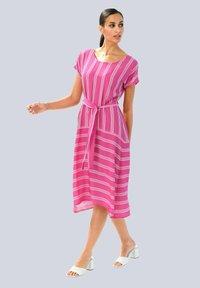 Alba Moda - Day dress - pink weiß - 1