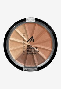 Manhattan Cosmetics - 3IN1 SHIMMER BRONZING POWDER - Powder - 001 gold shimmer - 0