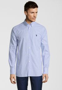 U.S. Polo Assn. - LONG SLEEVE - Hemd - blue stripes - 0
