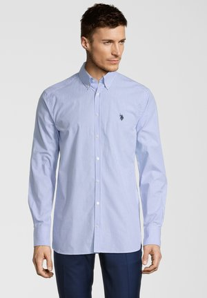 HERREN - Shirt - blue stripes