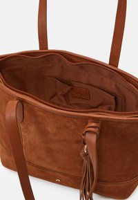 Anna Field - LEATHER - Tote bag - cognac - 2
